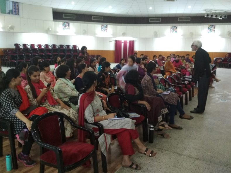 "New Delhi District Legal Services Authority Organised a Workshop on ""POCSO"" Act for teachers and counselors by Advocate Ravi Qazi, LAC at Army Welfare Education Society (AWES), Shankar Vihar on 15.05.2018."