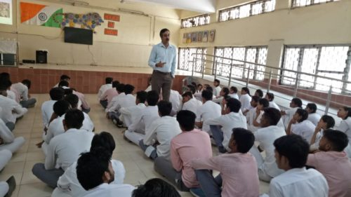 Legal Awareness Programme conducted by the Secretary New Delhi District at N.P Co-ed Senior Secondary, Lodhi Estate, New Delhi on the topic Sexual Violence on 23.05.2018.