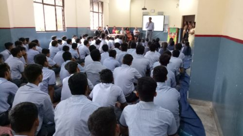 A Legal Awareness Programme was conducted on Child Abuse Sexual Violence at Jain Happy School, Gole Market on 07.08.2018.  Sh. Chander Jit Singh, Secretary, New Delhi DLSA delivered a lecture and made the students aware of the said topic. Around 75 students have attended the programme.