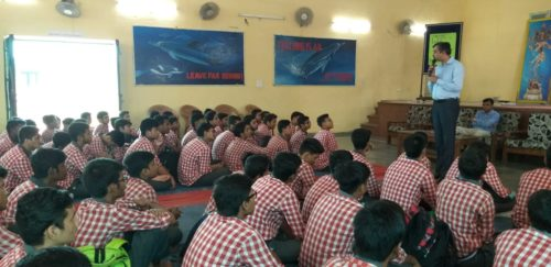 A Legal Awareness Programme was conducted on Child Abuse and Sexual Violence at Govt Boys SSS No-4, Sarojini Nagar-3, New Delhi on 20.08.2018.
