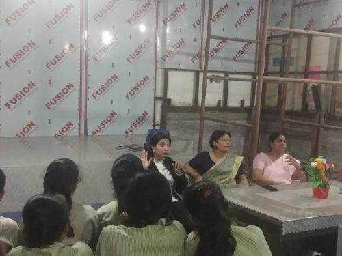 A Legal Awareness Programme was conducted on Child Abuse and Sexual Harassment at Sarvodya Kanya Vidalaya Sadar Bazar Tigris Road Delhi Cant on 10.09.2018.