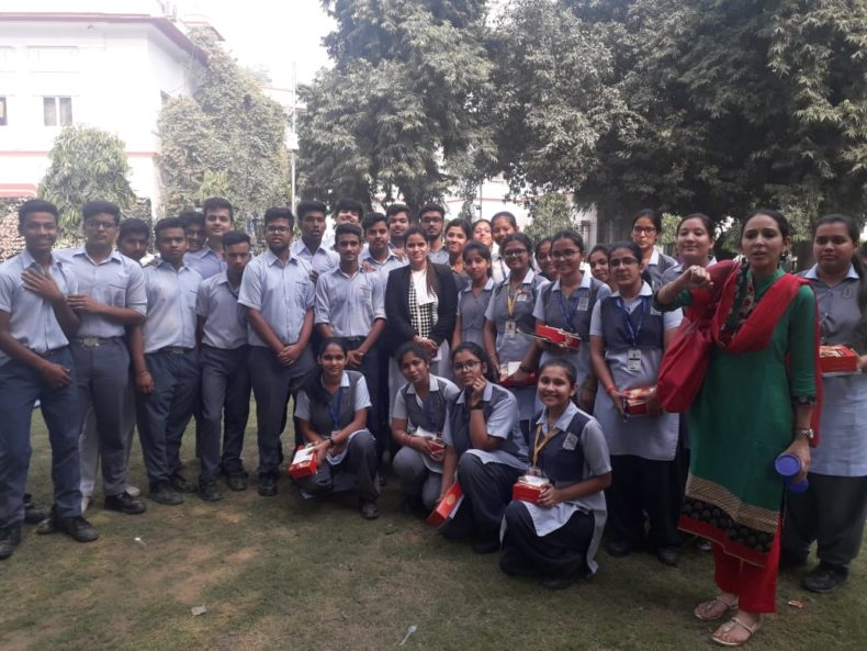 Visit for School Students of Chinmaya Vidyalaya, Vasant Vihar in Patiala House Court Complex to observe the court proceedings on 01.11.2018.