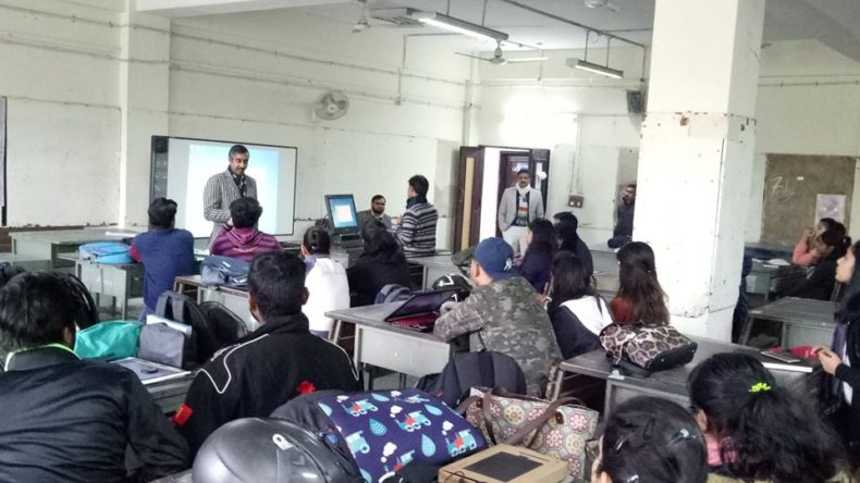 Legal Awareness Programme on Protection of Child Marriage and protection of Children from Sexual Offence (POSCO) Act on 24.01.2019 at College of art, Opp, Tilak Marg, Supreme Courts, ND.