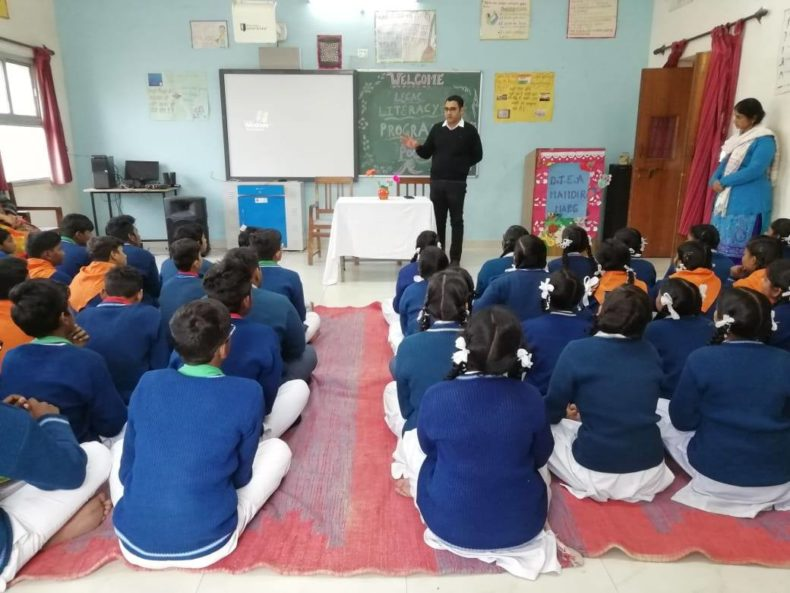 Legal Awareness Programme on Protection of Child Marriage and protection of Children from Sexual Offence (POSCO) Act on 23.01.2019 at DTEA School, Mandir Marg, New Delhi