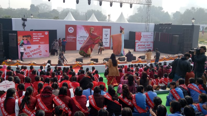 A Legal Literacy Programme was held on 05.02.2019 at Central Park, Connaught Place, New Delhi in collaboration with Sachi Saheli NGO on the topic of Menstrual Health and Hygiene Awareness Day.