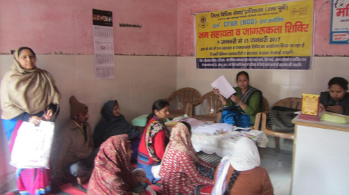 Legal Services/ Public Assistance Camp at Amar Vihar, Karawal Nagar