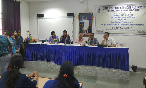 sensitization programme on the topic 'Drugs: Manifestations of Drug Abuse and Dependence'