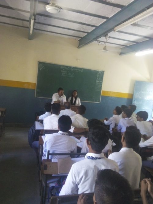 Awareness Programme on Green Delhi Literacy Campaign at Khajoori Khas