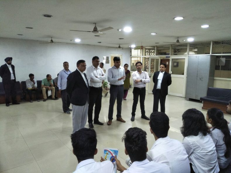 Court Visit of Law Students from Ideal Institute of Management and Technology