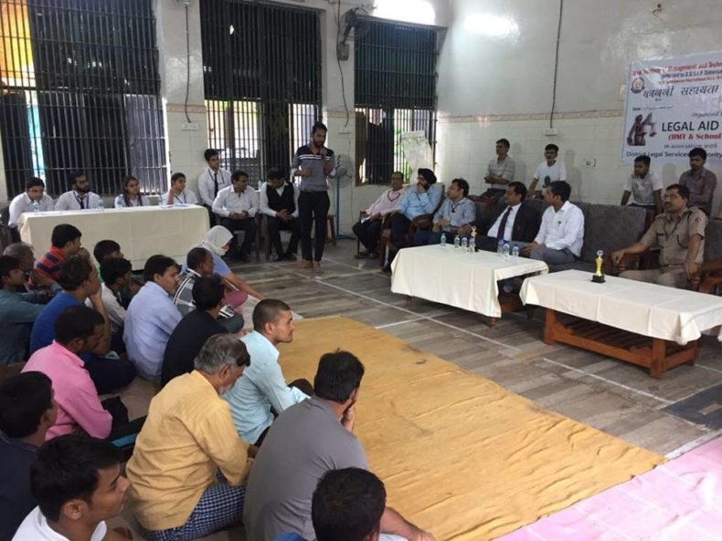 Legal-Aid-cum-Counselling Camp for the inmates of Central Jail No.7,Tihar