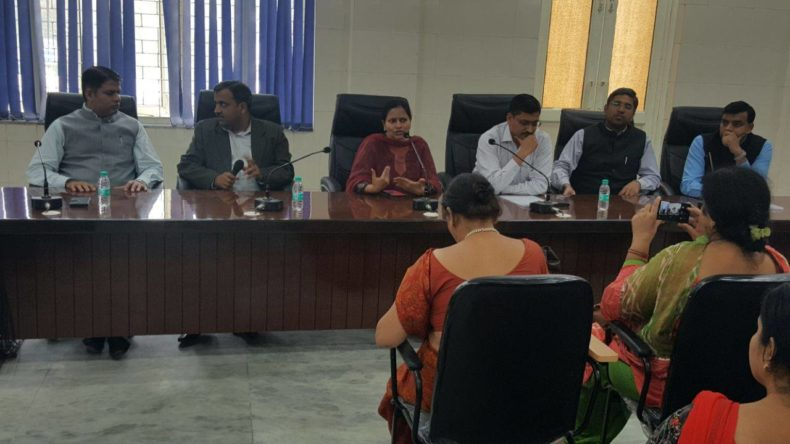 Meeting with CDPO, Supervisors, Anganwadi Workers and Para Legal Volunteers