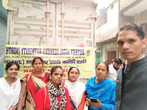 Legal Awareness-cum-Outreach Programme at Old Mustafabad