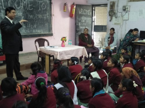 """Legal Literacy Classes on  Conservation of Water under the project """"Our Earth and Us"""""""
