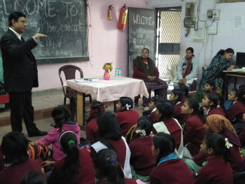 "Legal Literacy Classes on  Conservation of Water under the project ""Our Earth and Us"""