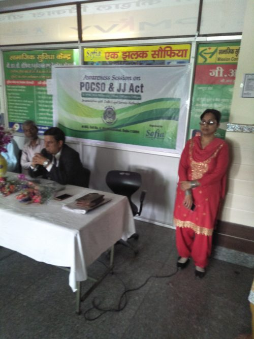 "Awareness Programme on the topic "" POCSO Act and Juvenile Justice Act"