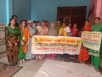 """Legal Awareness Programme on  """"Rights of women under Law"""""""