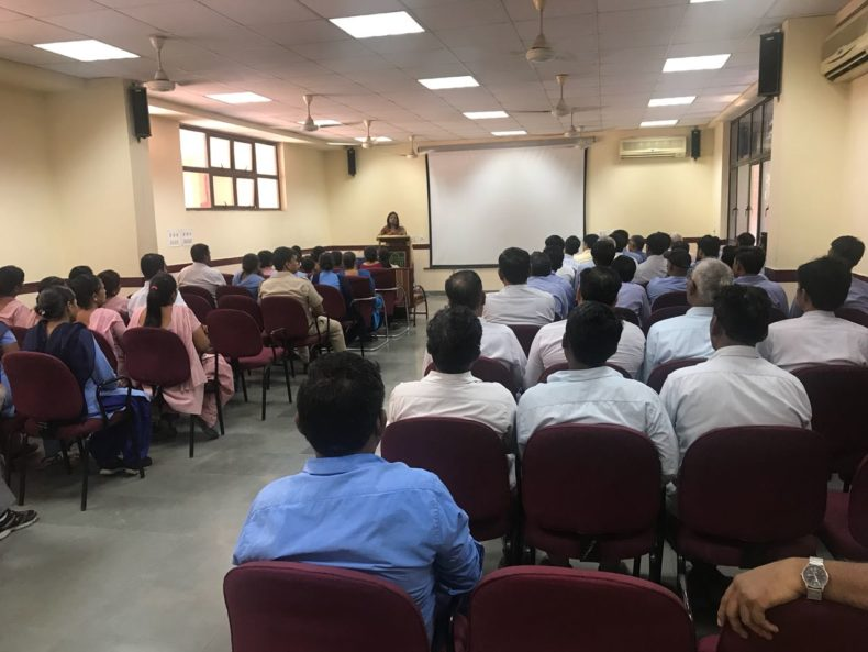 "Legal Awareness Programme at DPS, Rohini on topic ""Sexual Harassment at Work Place, POCSO Act, J.J. Act and Child Labour (Prohibition & Regulation) Amendment Act"""