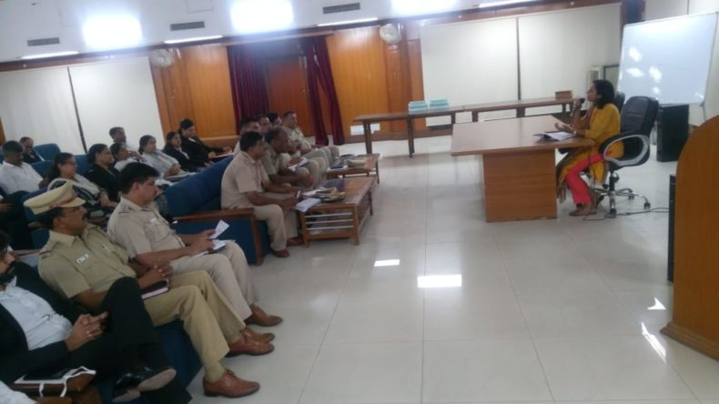 A meeting with  SHOs of Police Stations and MM Panel Advocates regarding Remand work at police stations on 27.06.2018
