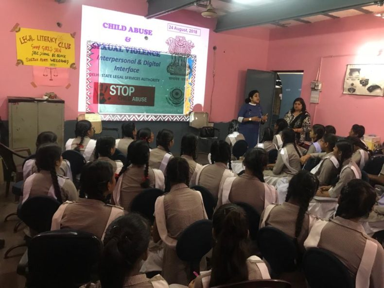 "Sensitization Programme on Sexual Violence – ""Child Abuse Violence Interpersonal and digital World"""