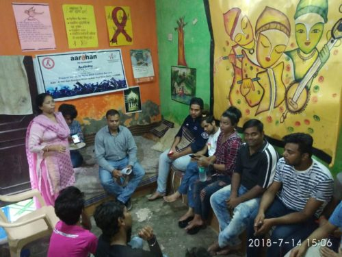 "DLSA, NW organized a Legal Awareness Program on ""Rights of Transgenders"" on 14.07.2018 at Sultan Puri, Delhi"