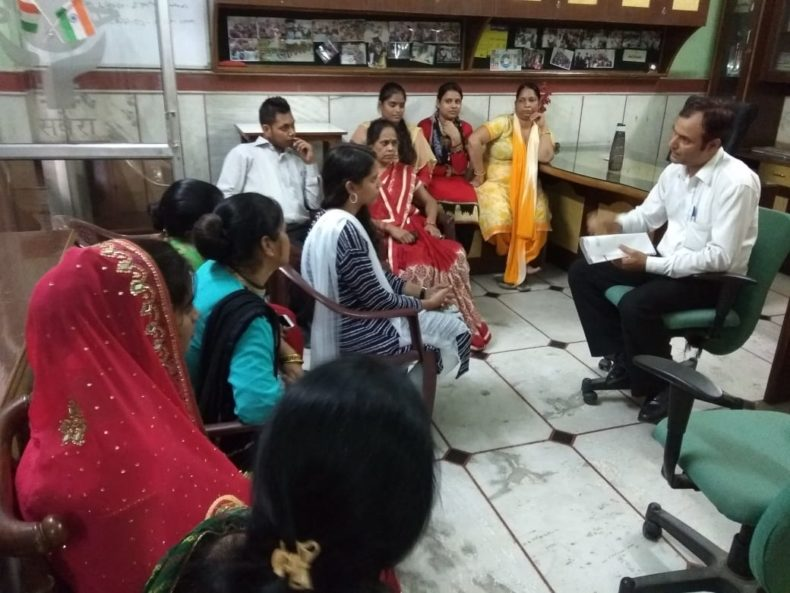 "A Legal Awareness Programme was organized by DLSA, NW on the topic ""Domestic Violence"" on 11.08.2018 at Prem Nagar – I, Delhi."