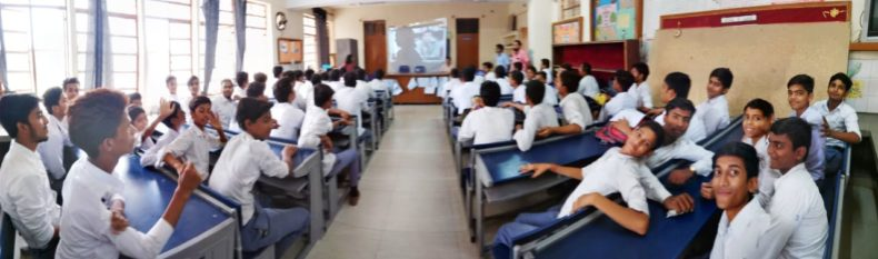 """Legal Literacy Class on """"Sexual Violence – Child Abuse Violence Interpersonal and Digital World"""" was organized in 26 schools in July, 2018"""