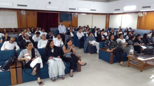 """A Training Programme for Panel Advocates of DLSA, NW and North was organised on 28.08.2018 on the topic """"Sec.138 N.I. Act"""" at Conference Hall, Rohini Courts, Delhi"""