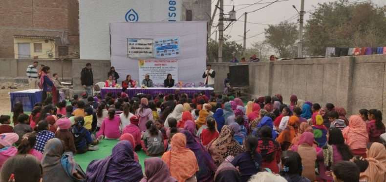 Legal Awareness Programme conducted by Dlsa North West on topic JJ Act & Pocso Act
