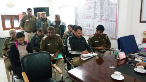 Legal Literacy Classes conducted by DLSA, (South) at Police Station: Neb Sarai on 22.12.2016