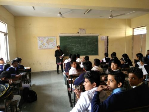 Legal Literacy Classes conducted at G-Coed SSS, Dwarka Sect 6 on 21.12.2016