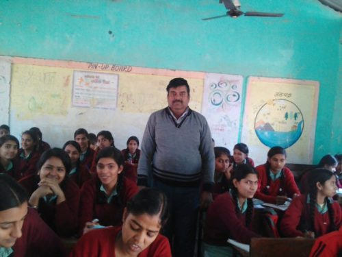 Legal Literacy Classes conducted at GGSSS Mandi on 26.12.2016