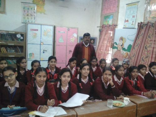 Legal Literacy Classes conducted at GGSS, Tigri on 27.12.2016