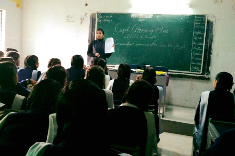 LEGAL LITERACY CLASSES AT GGSSS, SANGAM VIHAR (ID-1923052) ON 13.12.2017