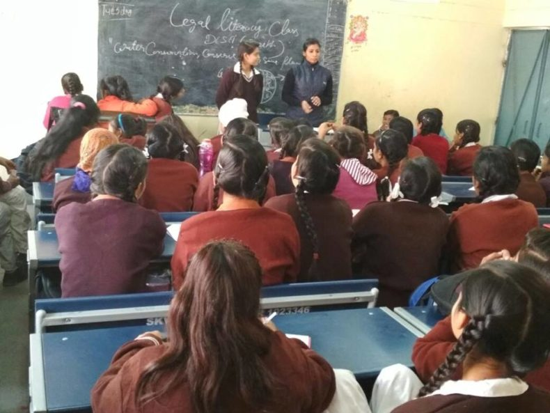 LEGAL LITERACY CLASSES AT SKV, J BLOCK, SANGAM VIHAR (1923346 ) ON 13.12.2017