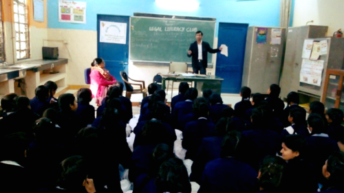 LEGAL LITERACY CLASS AT GGSSS, CHATTERPUR (ID-1923048) ON 19.12.2017