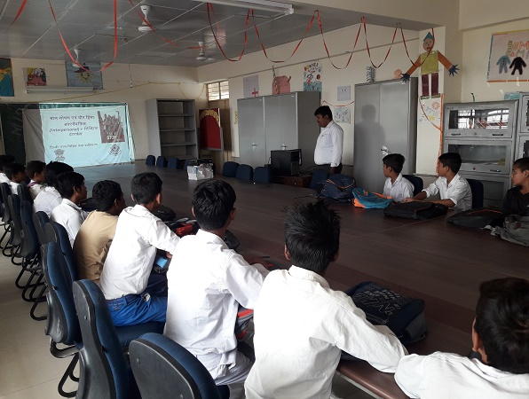 SENSITIZATION PROGRAMME ON SEXUAL VIOLENCE HELD ON 30.05.2018 AT GBSSS, MANDI (ID-1923358)