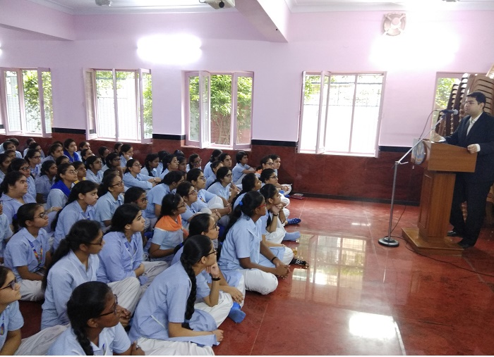 SENSITIZATION PROGRAMME ON SEXUAL VIOLENCE HELD ON 06.08.2018 AT ST. ANTHONY SCHOOL, HAUZ KHAS, NEW DELHI