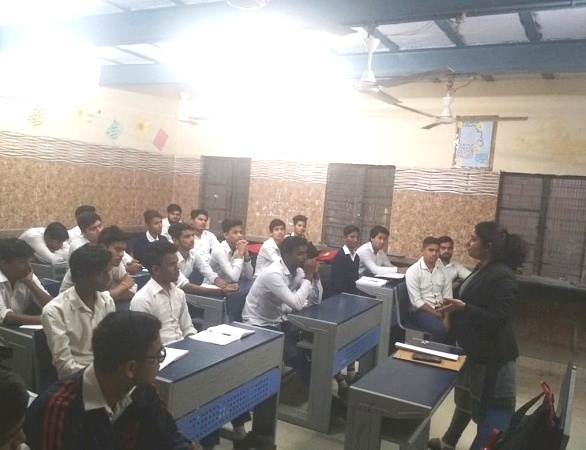 LEGAL LITERACY CLASS AT GBSSS, SULTANPUR (ID1923355) ON 29.11.2018