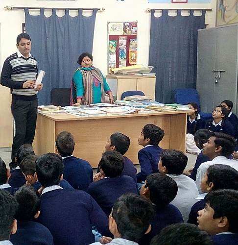 LEGAL LITERACY CLASS AT G(CO-ED), NEB SARAI SS (ID-1923031) ON 18.12.2018