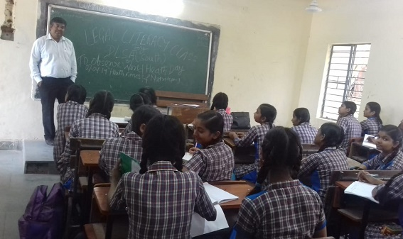 LEGAL LITERACY CLASS AT SKV, SULTANPUR (ID-1923061) ON 12.04.2019