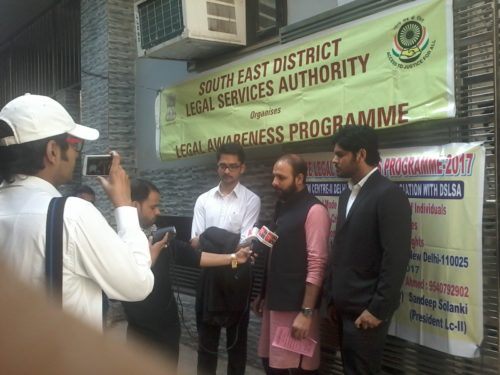 DLSA South East Organized by Legal Awareness Programme on 19.02.2017