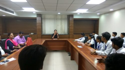 DLSA, SOUTH-EAST ORGANISED A VISIT OF SCHOOL STUDENTS FROM KGSBV, ID 1925003 (Chirag Enclave)  on 24.07.2017 ON SAKET COURTS COMPLEX NEW DELHI.