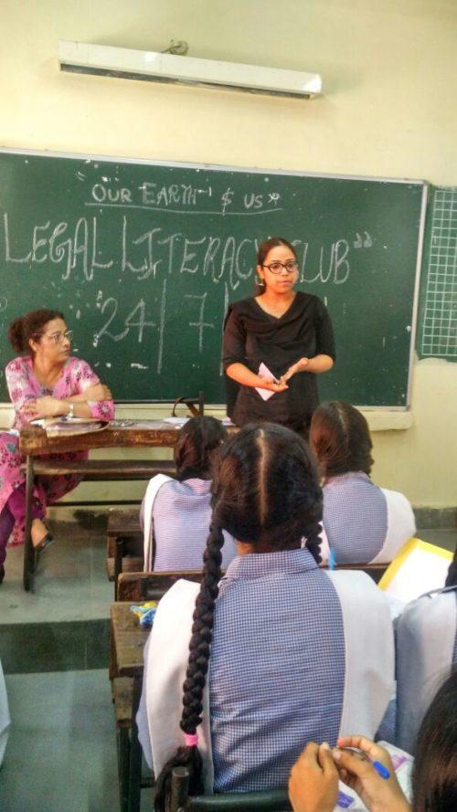 DLSA South East organized Legal Literacy Classes Programme on 24.07.2017