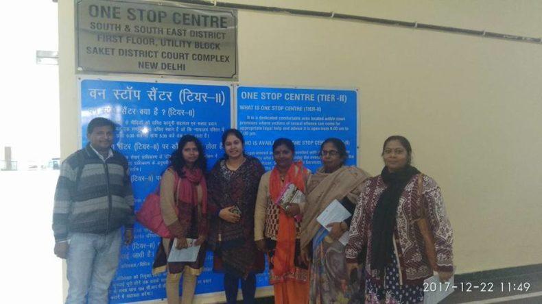 South-East DLSA interact with Members of Mahila Panchayat on 22.12.2017