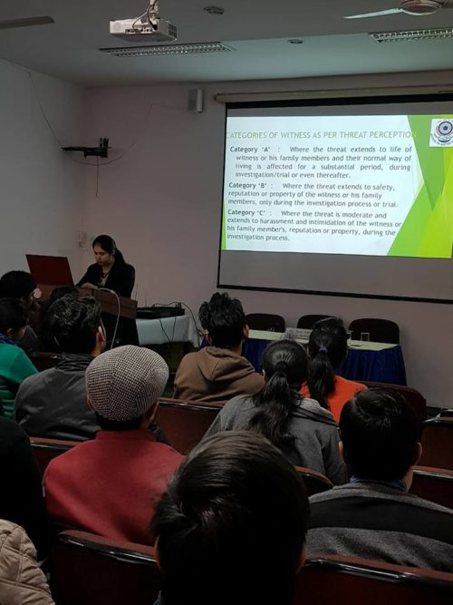 DLSA (SE) organised a Legal awareness session on 31.01.2018