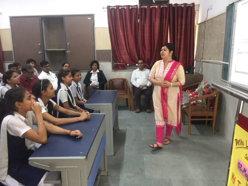 South-East DLSA organized by Legal Awareness Session at Kautilya Sarvodaya Bal Vidyalaya on 03.05.2018