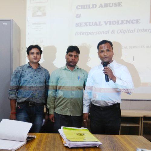 DLSA(SE) conducted by Sensitization Awareness Programme at GBSSS Mandanpur Khadar Extension on 18.09.2018