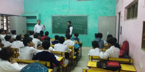 DLSA(SE) conducted Legal Literacy Classes Programme on 29.11.2018