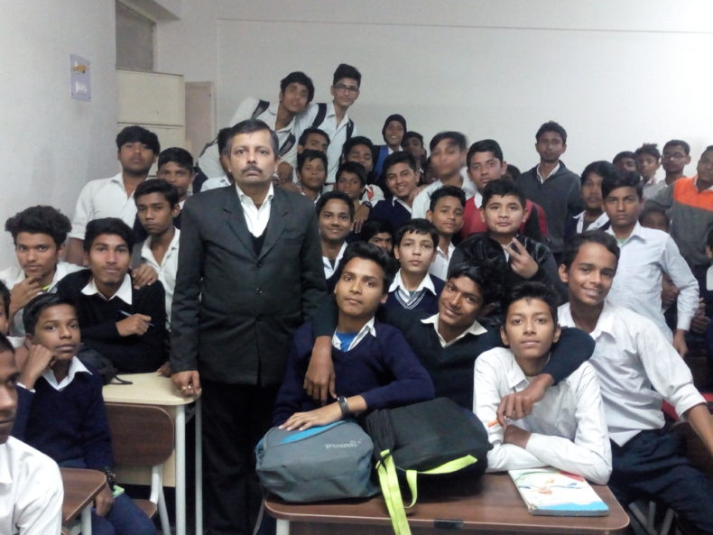 DASA(SE) conducted Legal Literacy Classes Programme at school namely GBSSS, TKD Village New Delhi on 13.12.2018