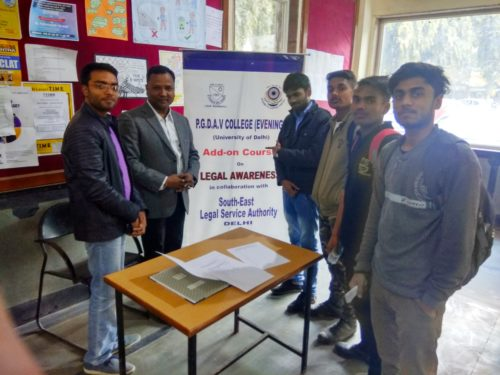 Legal Aid Services Clinic on 10.01.2019